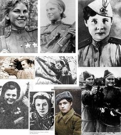Female Soviet snipers