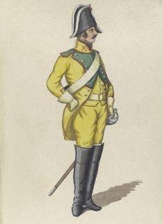 Spain;  Dragoon Regt. Sagunto 1807