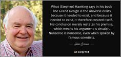 John Lennox famous and rare quotes.