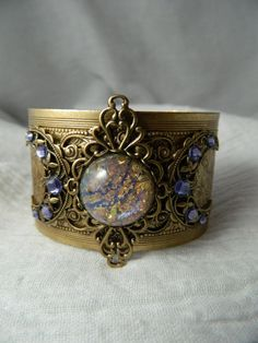 Aphrodite Triple Moon Goddess Cuff Bracelet - SOLD!