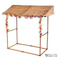 Tabletop Luau Hut, Room Decor, Party Decorations, Party Themes & Events - Oriental Trading