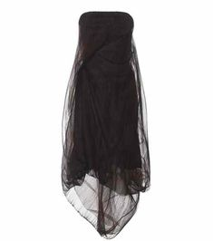 Strapless tulle dress | Rick Owens