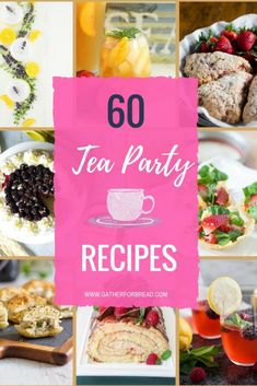 Tea Party Recipes - Featuring a round up of ideas for tea parties. Bites little eats appetizers mini sandwiches scones desserts and more. A collection of lots of recipes to pull off a fun tea party. Subway Sandwich, Afternoon Tea Recipes, Afternoon Tea Parties, High Tea Parties, Summer Parties, Tee Sandwiches, Finger Sandwiches, English Tea Sandwiches, Snacks Für Party