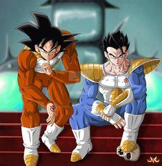 I'll take this over the great saiyaman suit anyday db dbz dbgt dbs dragonball dragonballz dbsuper dragonballgt ssj ssg ssgss goku vegeta gohan futuretrunks piccolo goten trunks frieza cell majinbuu broly blackgoku hit jiren Goku And Gohan, Son Goku, Anime Echii, Anime Comics, Dragon Ball Gt, Tarble Dbz, T Shirt Manga, Sailor Saturno, Dbz Characters