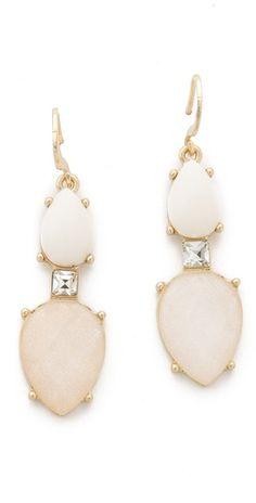 Club Monaco Opal Earrings   SHOPBOP