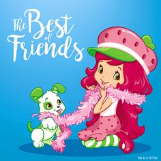 We are the best of friends!