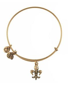 Stackable Alex and Ani bracelets at Bloomingdale's!
