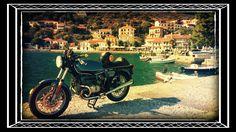 #bmw #r100 #caferacer #greece #tour