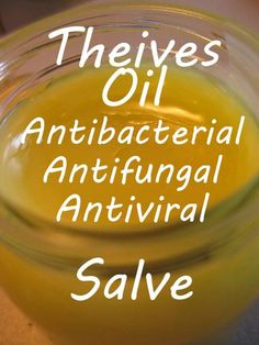 Fir and Cypress: Antibacterial Four Theives Salve
