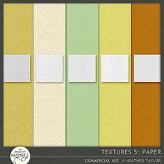 Textures 5: Paper::11/06 - Wonderful Wednesday::Memory Scraps {CU}