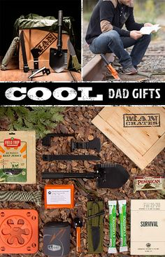 Is your dad master of the outdoors? If your dad is an off-the-grid, outdoor adventurer that enjoys being alive (emotionally and literally), give him the gift of preservation this Father's Day. The Outdoor Survival Crate has everything your dad needs to endure whatever harrowing curveballs Mother Nature has been known to throw. Give your dad the equipment to not just challenge, but conquer the Elements and the unknown.