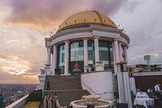 Bangkok | Unser Aufenthalt im lebua at State Tower Hotels In Bangkok, Sky Bar, Open Air, Das Hotel, Cocktails, Tower, Travel, Water Still, Viajes