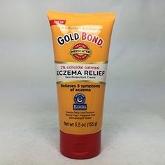 Find best price for Gold Bond Eczema Relief Cream, Colloidal Oatmeal, 5 oz Pack) Skin Treatments, Eczema Relief, Itch Relief, Colloidal Gold, Eczema Symptoms, Best Lotion, Anti Itch Cream, Natural Hair Updo
