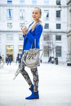 FUORI SALONE 2013 DAY1: COBALT OUTFIT | TheCabLookTheCabLook
