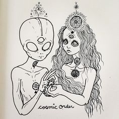 cosmic order, aliens, tumblr, drawing, third eye, chakras, beleive