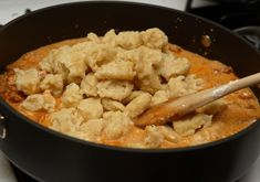 Cacao Dark Chocolate: Paprikás Csirke, with Galuska(Hungarian Chicken and Dumplings) Chicken Paprikash Slow Cooker, Chicken Paprikash With Dumplings, Hungarian Chicken Paprikash, Slow Cooker Recipes, Crockpot Recipes, Chicken Recipes, Cooking Recipes, Cooking Ideas, Yummy Recipes