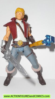 masters of the universe PRINCE ADAM he-man 2002 complete motu action figures