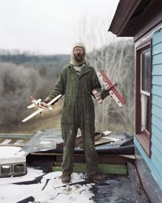 Alec Soth, Charles, Vasa, Minnesota (from Sleeping on the Mississippi), 2002