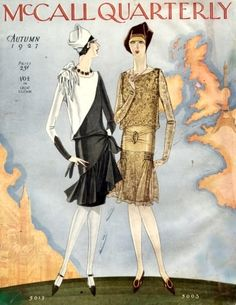 McCall Quarterly, Autumn 1927 by Gatochy, via Flickr    When Ally sees this she will die! This is gorgeous.