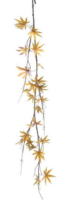 Pointed Maple Leaf Garland