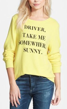 sunny weather sweatshirt http://rstyle.me/n/vz5czr9te