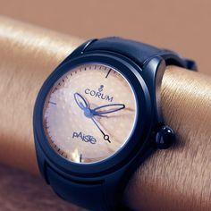 Corum Heritage Bubble Paiste LE Automatic Watch #BestWatches, #stylish, #women