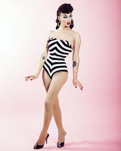 Violet Chachki, 1950's Barbie Realness, RPDR7 winner