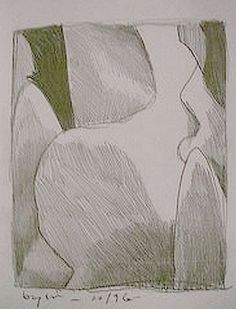 Some Grays in Shapes. 102. Pencil on print paper. Chuck Boyer