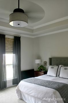 Ceiling Fan for Master Bedroom. Ceiling Fan for Master Bedroom. New Ceiling Fan In the Master Bedroom Home Bedroom, Bedroom Decor, Bedroom Ceiling Fans, Bedroom Ideas, King Bedroom, Bedroom Lighting, Master Bedrooms, Master Suite, Diy Drum Shade