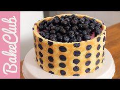 Kuchen mit schokolade und smarties