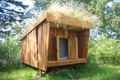 Mini shelters til børnefamilier sælges House In Nature, Shelter, Shed, Camping, Outdoor Structures, Hiking, Mini, Garden, Projects