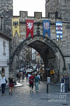 Charles Bridge In Prague - 20 Photograph by Gregory Dyer