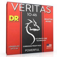 Meilleur jeu de cordes pour guitare électrique : Veritas 10 46