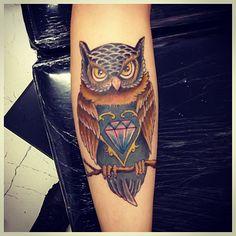 #owl #owltattoo #gugo #guarulhos #gugotattoo #tattoo #tatuaje #tatuagem #coruja