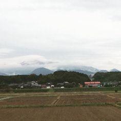 rainy day #photo #photography #photographer #photooftheday #Japan #nature #sky #clouds #mountain
