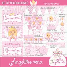 Kit imprimible Angelitos