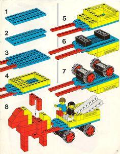 LEGO Basic Building Set, 5+ Instructions 547, Basic