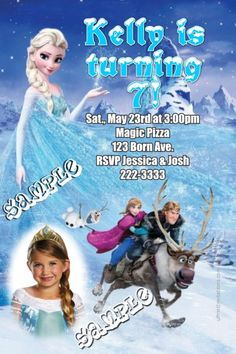 1000 Images About Party Ideas Disney S Frozen Invites