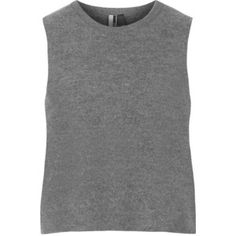 TOPSHOP Premium Boiled Wool Tank Top