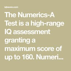 22 Best IQ Tests images in 2019