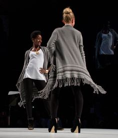 The Prairie Wrap, Thermal Tunic, and Ponte Legging. #CAbiScoop #Fall'12Collection
