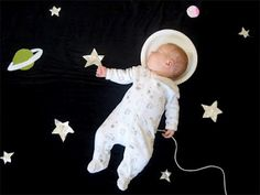 Creative Photos of a Sleeping Baby by Adele Enersen | Daily Pics