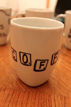 diy mug design | Yay! Go drink some coffee in your new mug now! :)