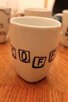 diy mug design | Yay! Go drink some coffee in your new mug now! :)