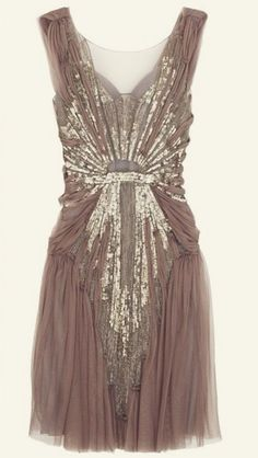 1920's bridesmaid dress