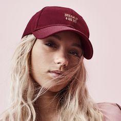 Dream it & do it Cap (Maroon) - Caps