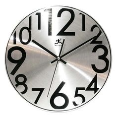 "LIBRARY CLOCK - option 5 i should stop now...  Found it at Wayfair.ca - 11.5"" Twinkle Wall Clock"