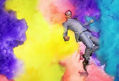Expressing Color with High Speed Photos: Commercial Photography