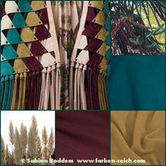 Herbstfarben in der Mode und in der Natur