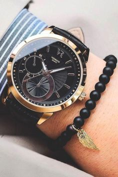Watches and Bracelets for a Perfect Combination. Amazing WatchesBeautiful  WatchesCool WatchesMen s AccessoriesStylish ... 33c861776a